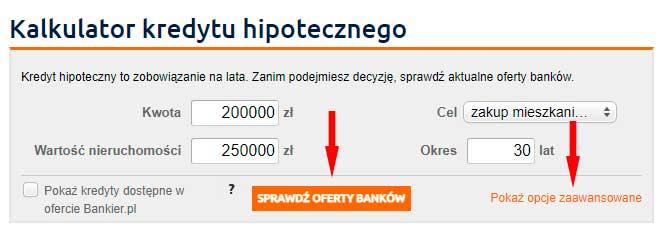 Розрахунок витрат на іпотеку в Польщі