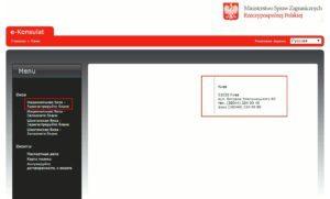 Реєстрація бланку на національну візу в Польщу
