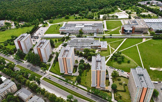Білостоцький університет инфрастурктура