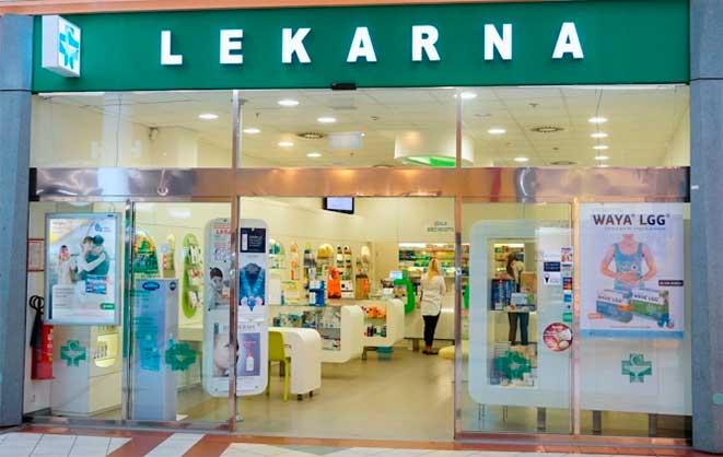 Ліки в аптеках Чехії