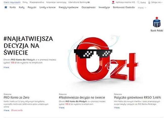 Відкриття рахунку в банку Польщі