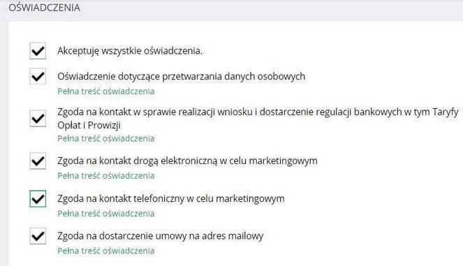 Банківські угоди в Польщі