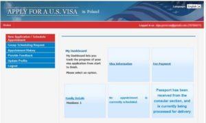 Запис в посольства США для співбесіди