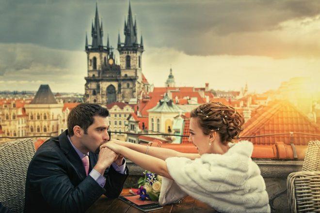 Шлюби в Чехії