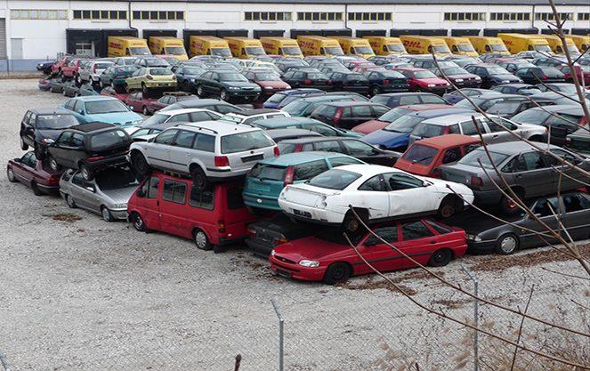 Автомобільні звалища в Німеччині