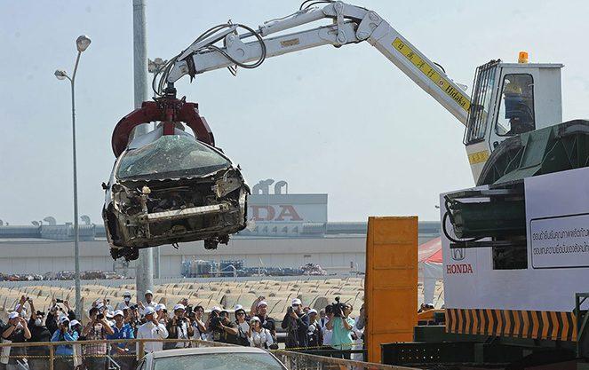 Німецький підхід до утилізації автомобілів