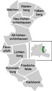 Район Ліхтенберг (Lichtenberg) у Берліні
