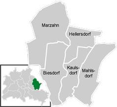 Район Марцано-Хеллерсдорф (Marzahn-Hellersdorf) у Берліні