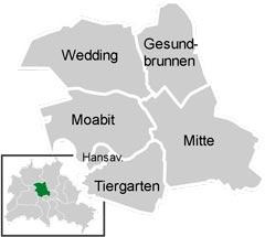 Район Мітте (Mitte) у Берліні