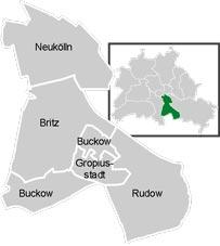 Район Нойкельн (Neukolln) у Берліні
