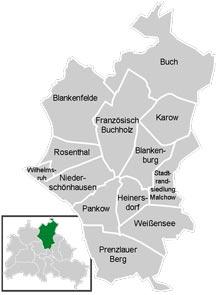 Район Панків (Pankow) у Берліні