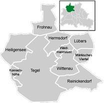 Район Райниккендорф (Reinickendorf) у Берліні