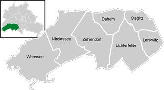 Район Steglitz-Целендорф (Steglitz-Zehlendorf) у Берліні