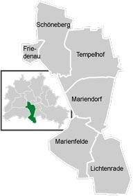 Район Темпельхоф-Шенеберг (Tempelhof-Schoneberg) у Берліні
