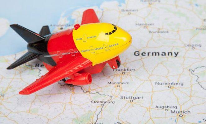 Прибуття в Німеччину