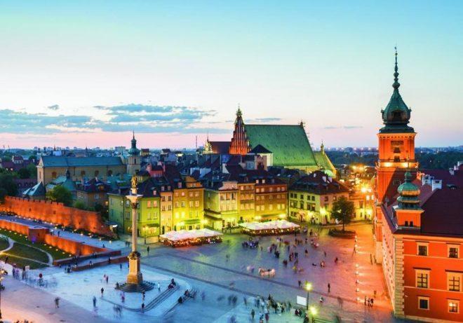 Клімат Варшави