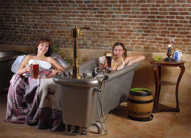 Пивні ванни у Чехії