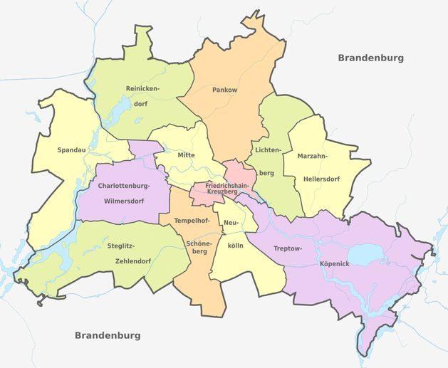 Адміністративно-територіальний устрій Берліна