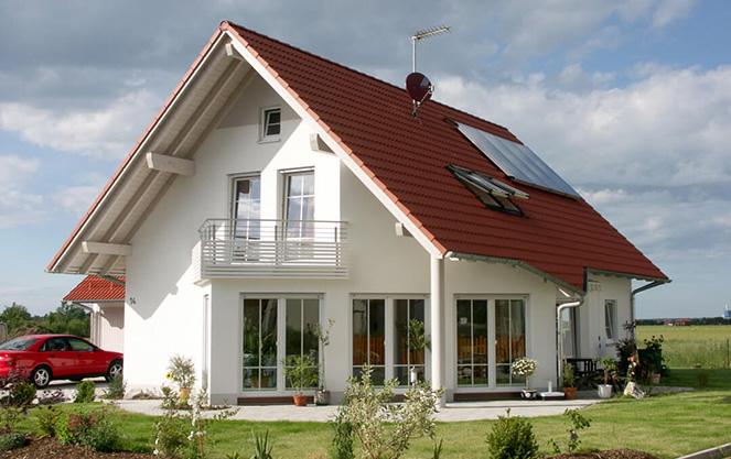 Класичний будинок з несучими елементами