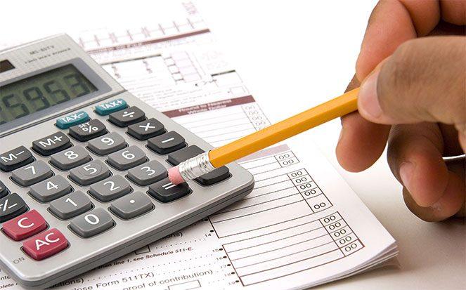 Розрахунок податків