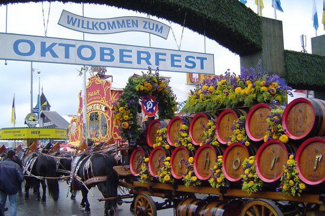 Місце проведення октоберфесту Мюнхен
