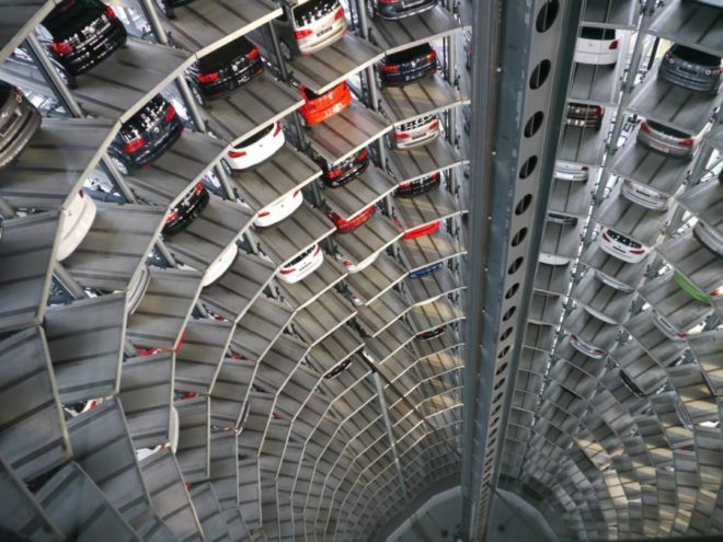 Німецькі паркування