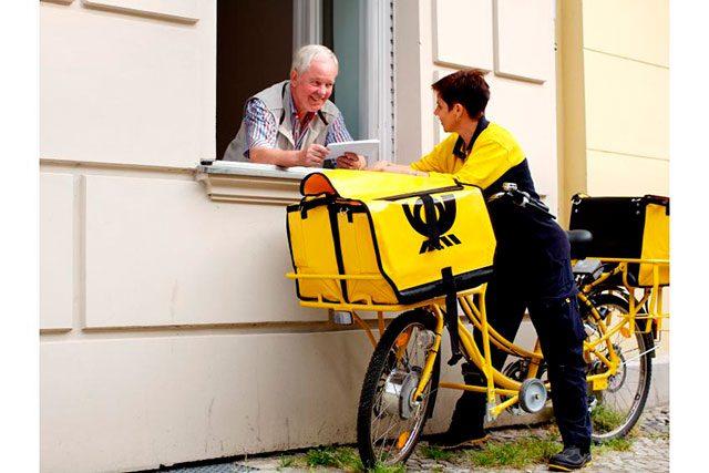 Доставки посилки з Німеччини