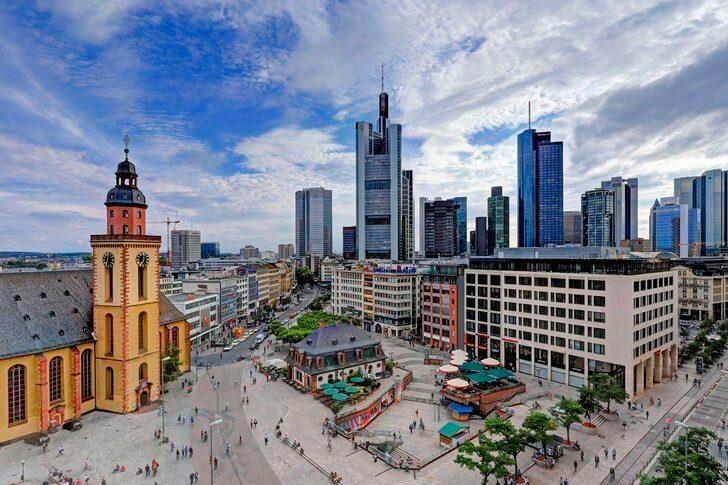 Франкфурт-на-Майні в Німеччині