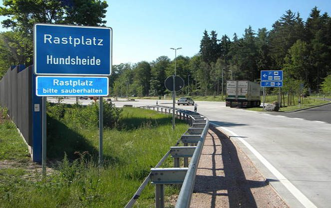 Сервісні зони на дорогах Німеччини
