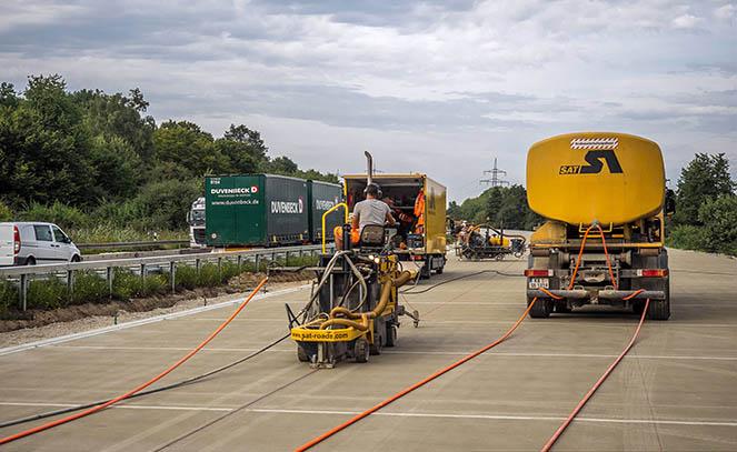 Будівництво доріг в Німеччині