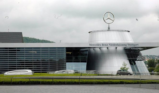 Штаб-квартира Mercedes-Benz