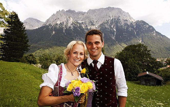 Традиції німецької весілля