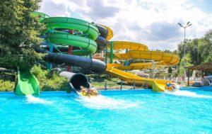 Водні розваги і аквапарк в терме лазня