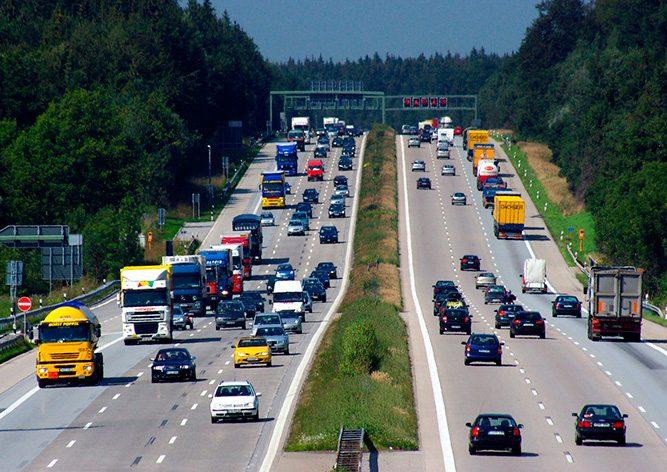 Дорожній трафік в Німеччині