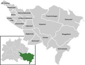 Район Трептов-Кепенік (Treptow-Kopenick) у Берліні
