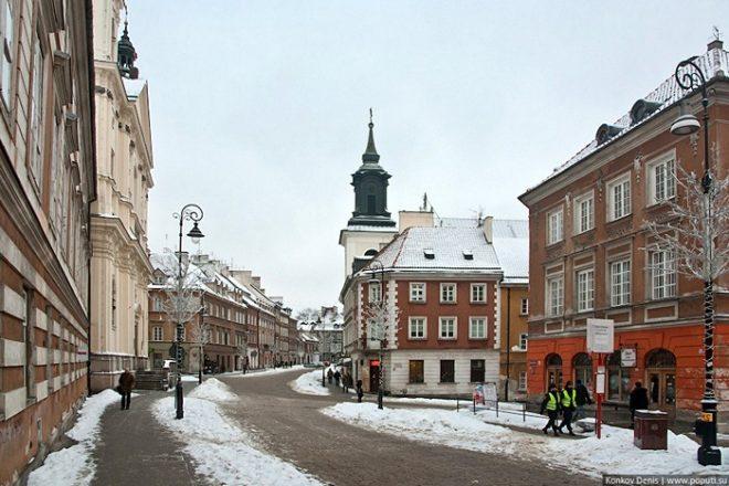 Зима у Варшаві