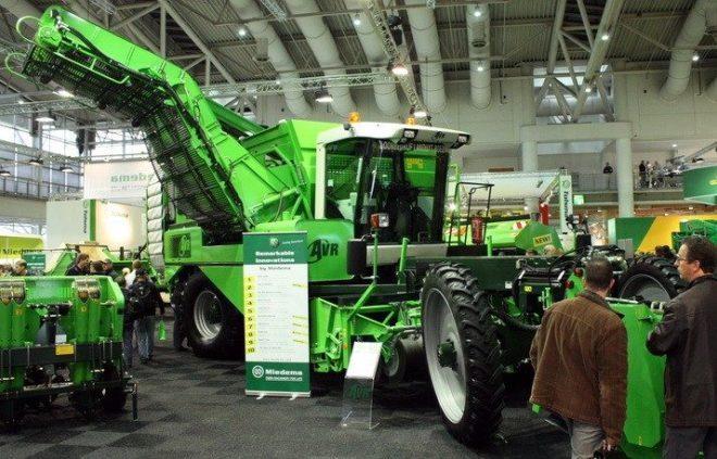 Виставка сільськогосподарської техніки в Ганновері