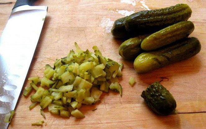 Важливі інгредієнти баварського салату