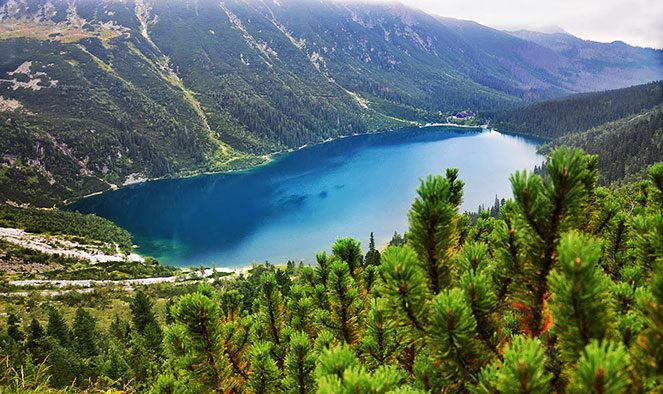 Озеро Морське око
