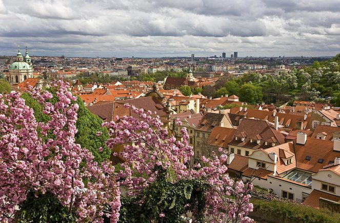 Прага з висоти