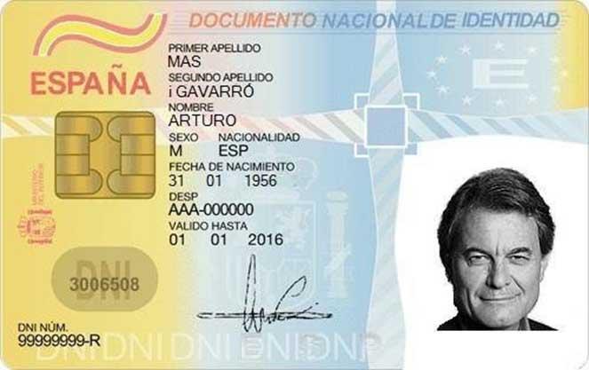 Тимчасове посвідчення особистості в Іспанії