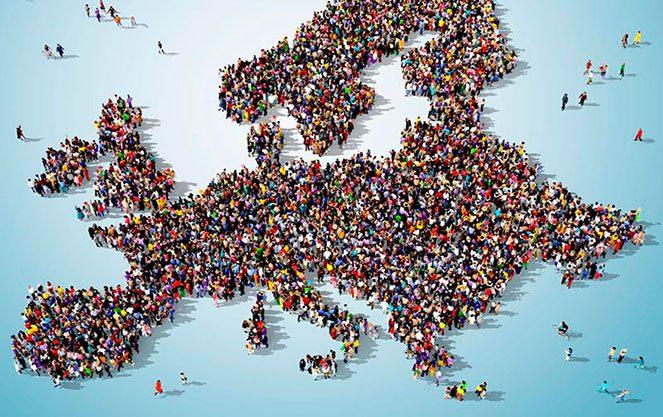 Зарплата в Європі