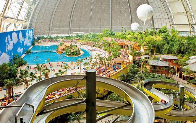 Відпочинок в аквапарку Берліна