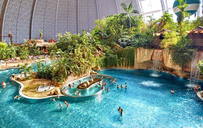 Водоспади берлінського аквапарку
