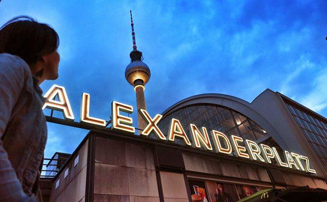 Александерплац у Берліні