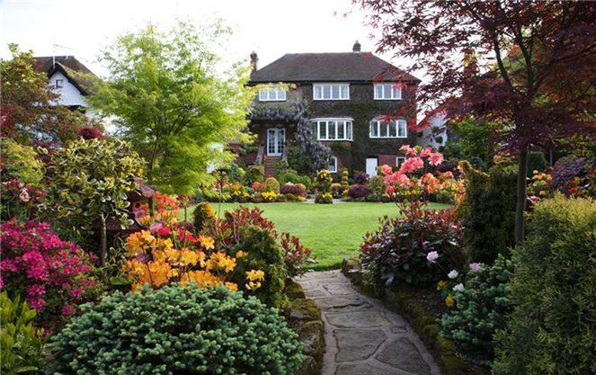 Архітектура англійського саду