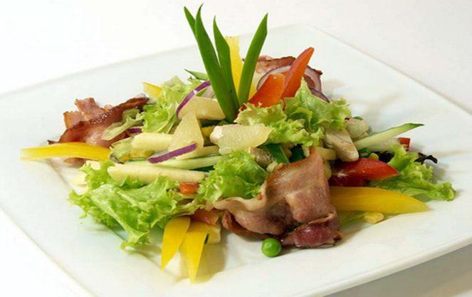 Берлінський салат з яловичиною