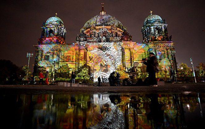 Фестиваль світла в Берліні
