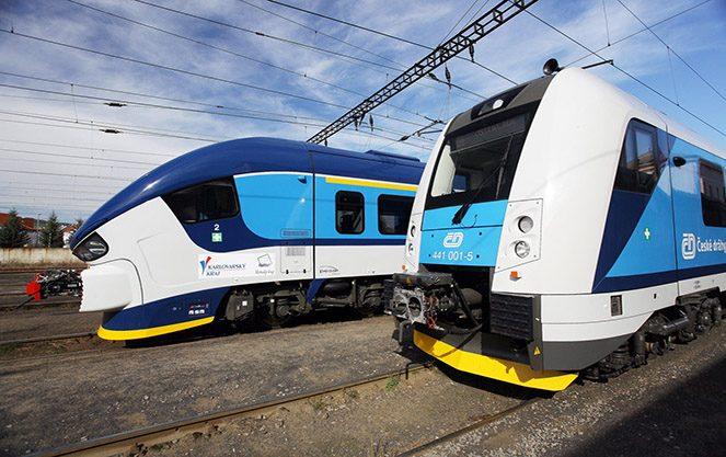 Залізничне сполучення Чехії