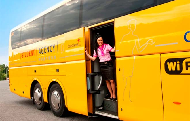Автобус RegioJet